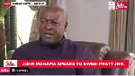 LIVESTREAMED: Mahama speaks to Kwesi Pratt