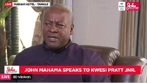Flagbearer of the NDC, John Mahama