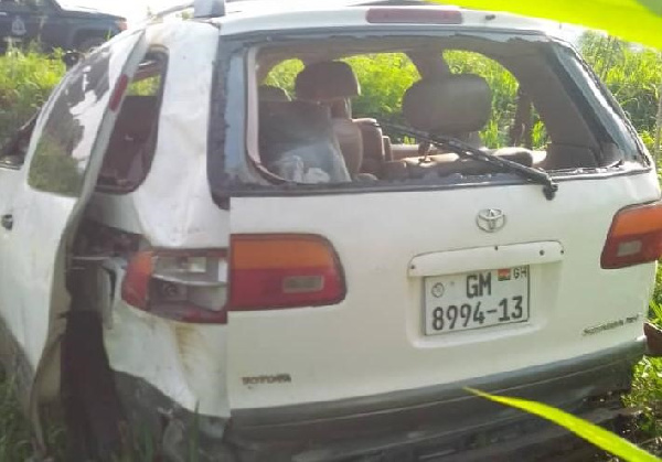 Accident on Adoagyiri-Ntoaso road claims life of 46-year-old man. 4