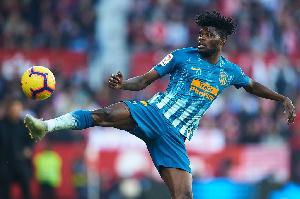 Thomas Partey, Black Stars midfielder