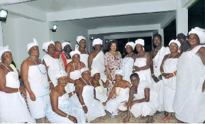 Ga Women In White