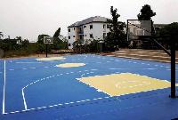 Pope John Senior High basketball court