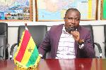 President of Ghana Armwrestling Federation, Charles Osei Asibey