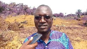 Hon. Joseph Amoah, District Chief Executive of Shama