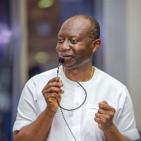 Minister of Finance and Interim Chair of IIGh, Ken Ofori Atta