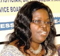 Philomena Nyarko, ?Government Statistician