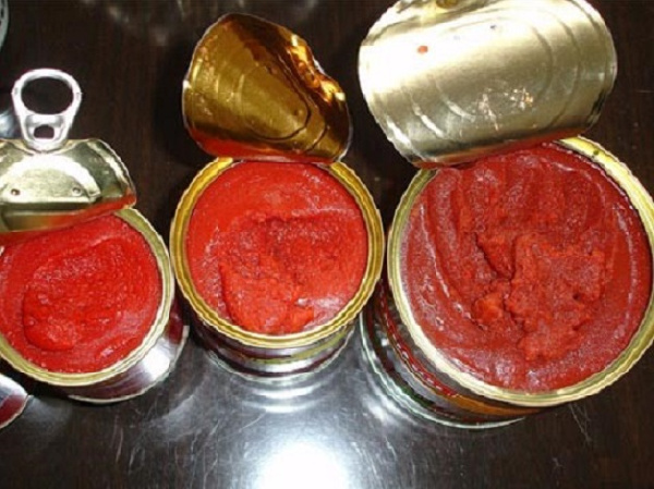 16 tomato paste products were listed as unwholesome by the Food and Drugs Authority