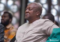 NDC flagbearer and former President, John Dramani Maham
