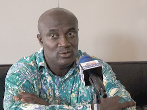 Chairman of Abossey Okai Spare parts Dealers Association, Clement Boateng