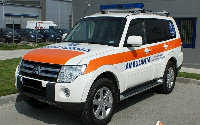 File photo: A Mitsubishi ambulance of the Ghana Health Service was auctioned at GHC350