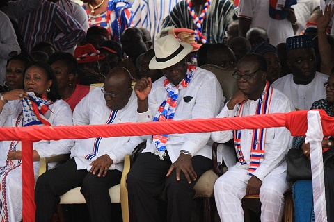 The NPP manifesto was launched t the International Trade Fair Centre in Accra