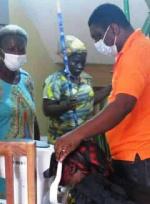 Akyem Swedru MP organised free eye screening