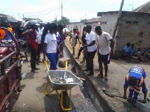 The clean-up exercise was held to promote healthy living