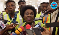Mrs Cecilia Abena Dapaah, the Minister of Aviation