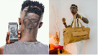 The unimaginable haircut of the SM fan had the face of Dancehall King Shatta Wale on it