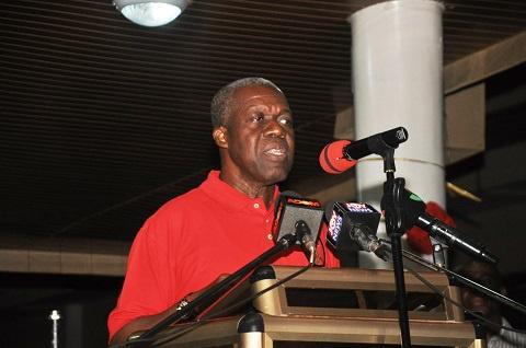 Vice President, Paa Kwesi Bekoe Amissah-Arthur