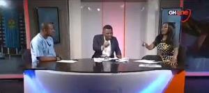 Pius Hadzide, Sammy Gyamfi and Host, Nana Aba Anamoah