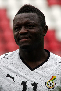 Sulley still hopeful of playing for Ghana