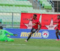 Ghanaian forward Kwaku Osei Bonsu
