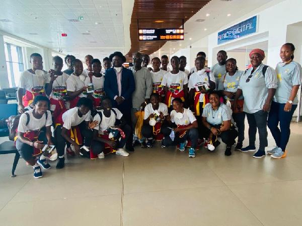 U-17 Women's WC qualifiers: Black Maidens arrive in Monrovia ahead of Liberia clash