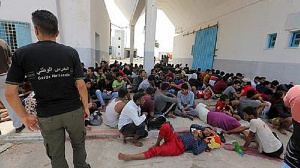 The migrants are said to be  from Egypt, Tunisia, Syria, Ivory Coast and others