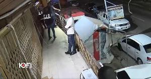 CID officers waiting on Funny Face around the premises of Kofi TV