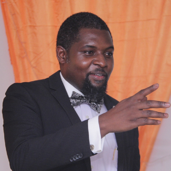 Dr. John Amuasi is a lecturer