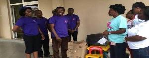 The NGO on Friday donated some items to Cancer Rehabilitation Centre at Korle-bu Hospital