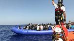 Migrants rescued by fishing boats near Libya