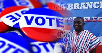 Dr. Charles Dwamena declared his intent to contest for the NPP National Treasure position