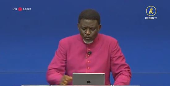 Bishop Agyinasare encourages customers of collapsed firms