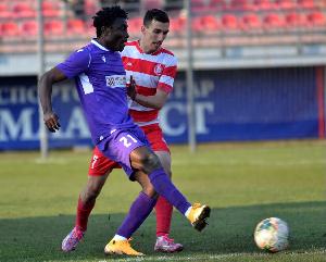 Ibrahim Mustapha joined Radnicki Mitrovica in February from Super Liga side Zlatibor Cajetina