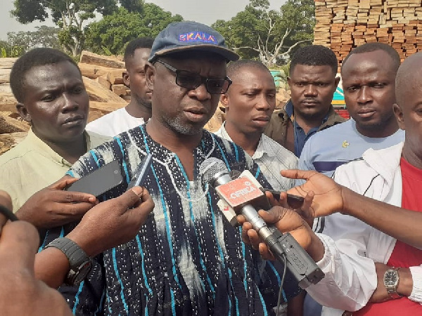 Ban on lumbering of rosewood still in force - Minister