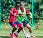 Yaw Yeboah trains with new club Wisla Kraków