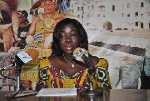 Mrs Elizabeth Ofosu-Adjare, Minister of Tourism