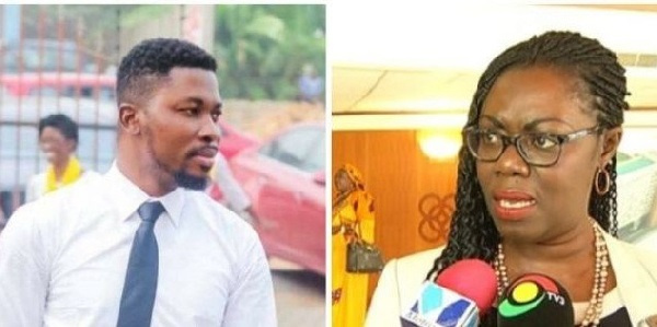 Go and ask your grandfather; did we make the law? – A Plus 'bites' Ursula Owusu