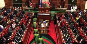 In the Kenyan parliament there are seats reserved for women