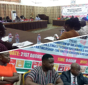Some participants at the launch of SDGs Agenda 2030