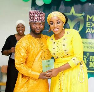 Hajia Ayishatu Salihu was honoured as Most Influential Female Student