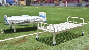At its peak in 2020, Nigerian stadia were refitted into isolation centers