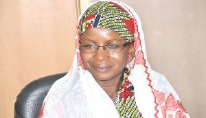 Acting Chairperson of the CPP, Hajia Hamdatu Ibrahim Haruna