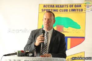Hearts of Oak CEO, Mark Noonan