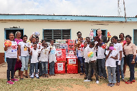 The Movenpick Ambassador Hotel donates to the Shelter for Abused Children