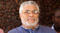 Jerry Rawlings, former president of Ghana