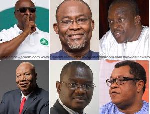 Ndc Presidential Hopefuls New