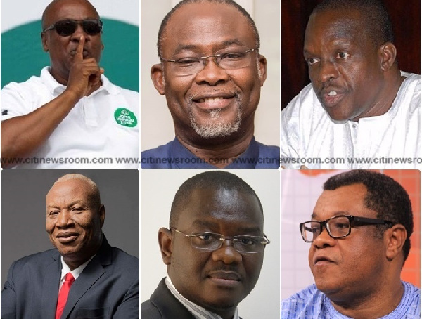 According to the presidential hopefuls the amount does not reflect the ideals of the NDC