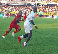 Stephen Appiah said his final goodbyes to the fans on Saturday
