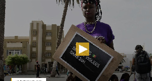 A Protester From The Senegal Feminist Collective