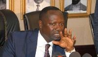 Minister of Petroleum, Mr Emmanuel Armah-Kofi Buah