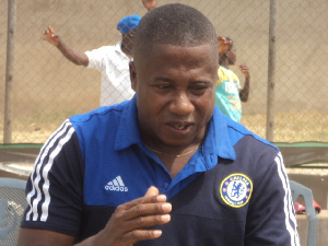 Elmina Sharks coach Kobina Amissah
